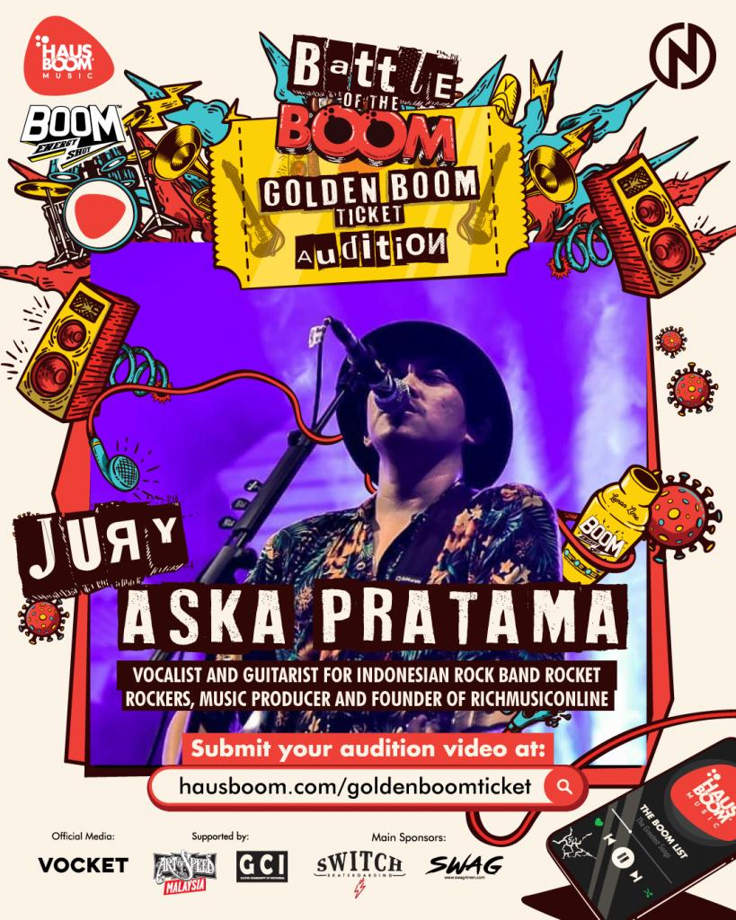 Aska Rocket Rockers juri Haus of the Boom