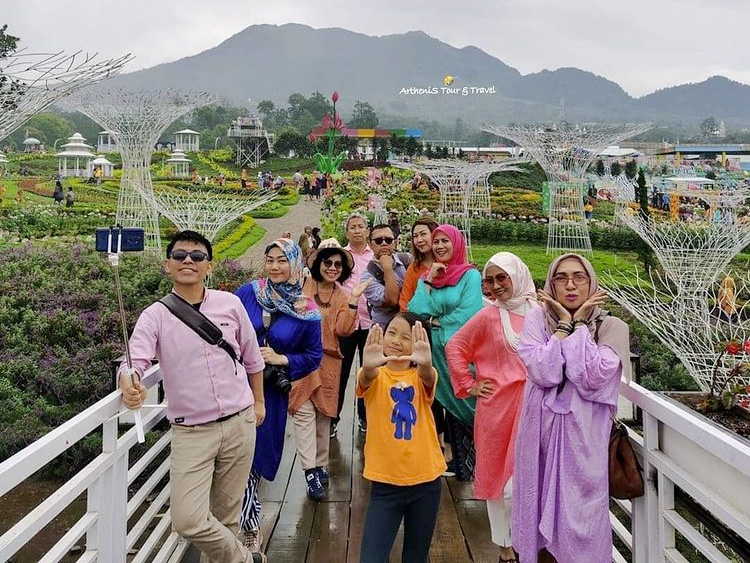 Taman Bunga Celosia Palembang