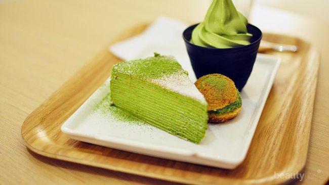 green tea lupain mantan